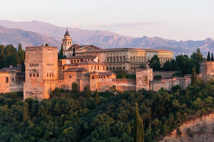 Alhambra Palace and Granada Walking Tour