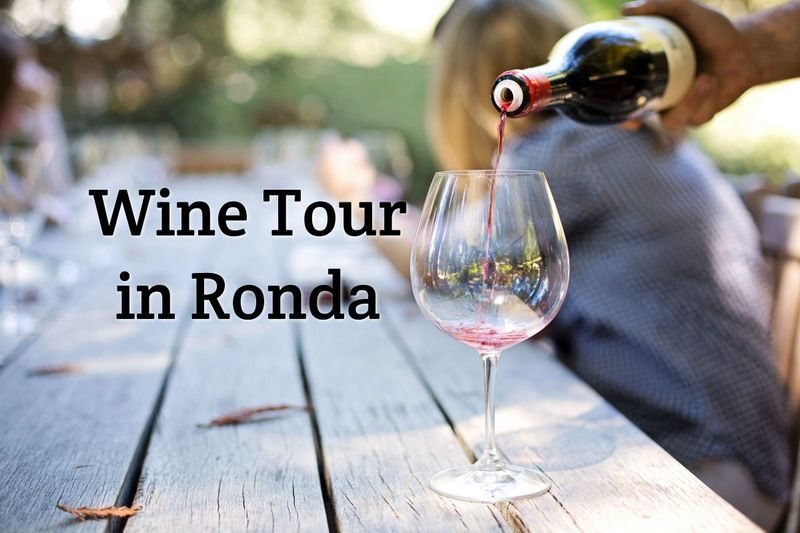 Wine tour in Ronda from Malaga or Marbella
