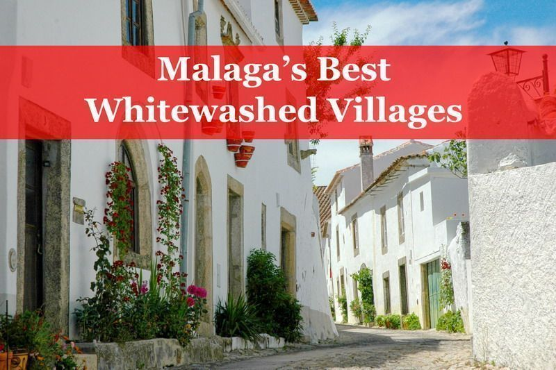 malaga white washed villages
